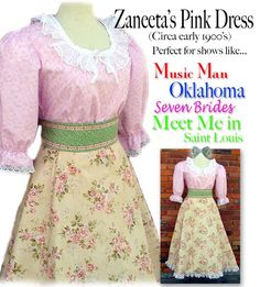 MissEm.com - Music Man Zaneeta dress, $135.00 (http://www.missem.com/music-man-zaneeta-dress/)