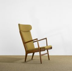 Hans J. Wegner. Lounge chair, 1951.