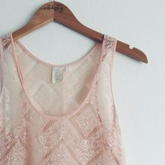 Anthropologie Eloise Nightgown Dainty with ruffles and lace! The dusty pink color is so romantic. Perfect for sleeping through summer nights! Anthropologie Intimates & Sleepwear Chemises & Slips