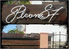mester urban: No.51 - Metallography - Plevna 87 Neon Signs, Home Decor, Decoration Home, Room Decor, Interior Decorating