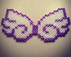 Angel wings -- perler beads
