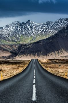 Iceland road by JohnsonMichael1
