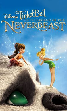 Disney TinkerBell and the legend of the neverbeast. Available on Blu-ray™, Digital HD & Disney Movies Anywhere March 3.