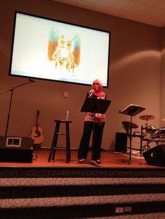 Kat Kerr sharing Heaven's wonders at GCC Atlanta