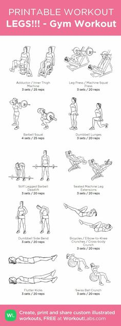 Pintrest: AlluringGoddess #GymWorkoutPlans