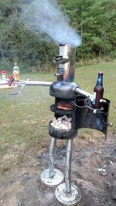 Robot grill