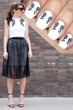 Black, White and Bold