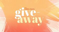 Enter to Win 2 $50 Gift Cards – 1 for you, 1 to give away! - The Carol Blog