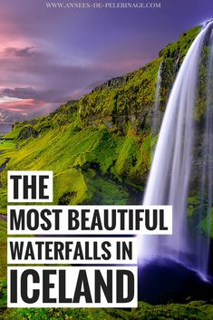 A massive list of the 15 most beautiful waterfalls in Iceland. Check out these unique Iceland photography spots and plan your perfect itinerary. Best Iceland Tours, Iceland Travel Tips, Iceland Road Trip, Europe Travel Guide, Travelling Europe, Travel Guides, Famous Waterfalls, Beautiful Waterfalls, European Vacation