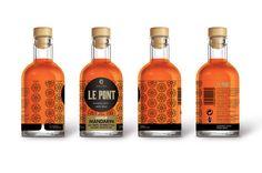 Le Pont Liqueur Mandarin Whiskey Bottle, Packaging, Drinks, Bridge, Drinking, Beverages, Drink, Wrapping, Beverage