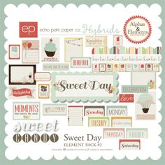 Snap Click Supply Co. - Sweet Day Element Pack