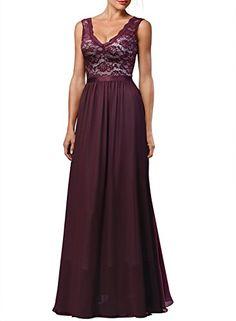 Miusol Women's Deep-V neck Elengant Halter Retro Bridesmaid Prom Maxi Dress - http://www.darrenblogs.com/2016/11/miusol-womens-deep-v-neck-elengant-halter-retro-bridesmaid-prom-maxi-dress/