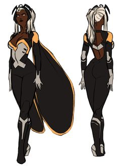 CHARACTER MODEL — Storm by Kris Anka [ Uncanny X-Force ] * unused...