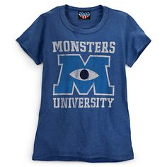 SOLD OUT :( Monsters University Tee for Women | Tees, Tops & Shirts | Disney Store