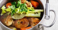 """Homemade Better than Bouillon recipe? Make your own delicious Better Than Bouillon Chicken Base for a """"cooked all day"""" flavor. Beef Soup Recipes, Whole Food Recipes, Chicken Recipes, Better Than Bouillon Recipe, Turkey Stock Recipe, Homemade Chicken Stock, Homemade Food, Chicken Base, Low Sodium Chicken Broth"""