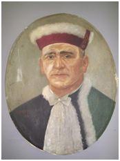 Sem Título, 1956. Óleo sobre tela, 58 x 46 cm. Autora: Antonieta Santos Feio.