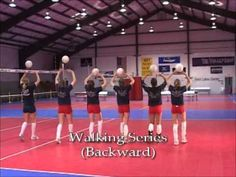 Complete Library Of Setting Drills Setting ball control Volleyball Warm Ups, Volleyball Passing Drills, Volleyball Skills, Volleyball Practice, Volleyball Setter, Volleyball Training, Volleyball Workouts, Coaching Volleyball, Basketball Drills