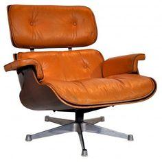 Fauteuil lounge chair, EAMES Edt Miller - années 60
