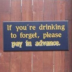 Drunkards are useless