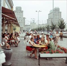 Berlin DDR 1969 Karl-Marx-Allee
