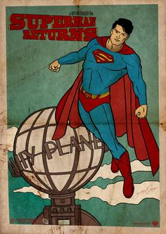 Superman Returns (vintage poster design) | By: GTR26