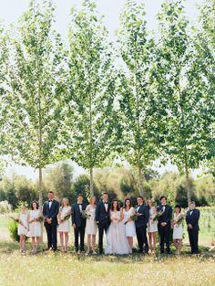 blush eclectic gold chevron barn wedding oregon