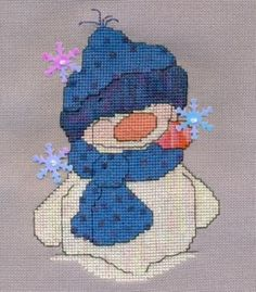 FIRST FLAKES (SNOWBALLZ 2) - Counted Cross Stitch Pattern $6.45