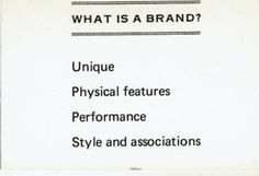 What is a Brand? - Stephen King.
