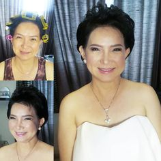 #BeforeAndAfter #makeuptransformation For an ageless beauty keep smiling and stay happy. Thank you tita Judith and @katealtarejos for trusting us to be your glam squad today.  Makeup by @loveaimeeg using @narsissist on her face and @maccosmetics PLEASE ME on her lips.  Hair by @art_of_beauty_byaram #makeupartistph #makeupartist #hmua #hmuaph #mua #muaph #makeup #hairstylist #hair #beauty #fashion #glam #nofilter For bookings: 091789-AIMEE