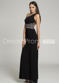 2014 New Jersey One Shoulder Dress  Prom Dresses $129