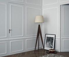 Tripod Lamp, Home Organization, Tall Cabinet Storage, Mirror, Furniture, Home Decor, Doors, Decoration Home, Room Decor