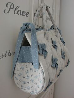 Shabby Home: Tutorial: la borsa Girandola