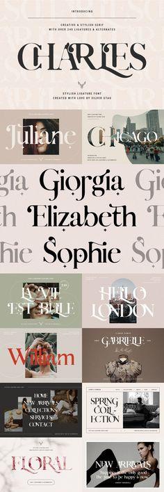 The Modern Serif Font Bundle — Pixel Surplus | Resources For Designers Modern Serif Fonts, Font Packs, Wedding Fonts, Photoshop Illustrator, Typography Design, Words, Type Design, Typographic Design, Horse