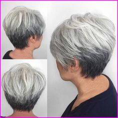 7 Centered Tips AND Tricks: Older Women Hairstyles With Glasses women hairstyles over 50 bangs.Fringe Hairstyles Lob women hairstyles with bangs Hairstyles Over 50 Modern. Hair Styles For Women Over 50, Hair Cuts For Over 50, Medium Hair Styles, Curly Hair Styles, Short Hair Over 50, Short Hair Back View, Grey Hair Over 50, Short Grey Haircuts, Haircuts For Fine Hair