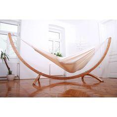 Hängematte mit Gestell Siesta Grande Deluxe + Brasil Premium Natur - Brasil Hängemattenshop.com