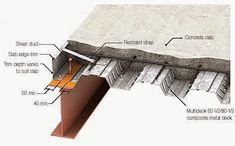 House Construction Plan, Steel Frame Construction, Home Building Design, Home Design Plans, Design Hotel Paris, Modern Small House Design, Steel Structure Buildings, Building Foundation, Steel Deck