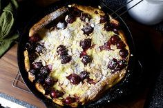 Cherry Almond Dutch Baby - Smitten Kitchen