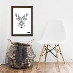 #Poster #hert #Scandi #deer | #ad