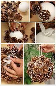 Bildergebnis für weihnachts basteln naturmaterial
