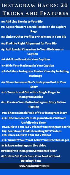 Instagram Tricks and Features. #instagram #features #tricks #socialmediaplatform #instagrammarketing #marketingtips #marketingstrategy #digitalmarketing