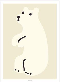 """""""Huggy Bear Cream""""-Poster vom koreanischen Label WARMGREYTAIL.Maße: 30 x 40 cmPapier: 256 grWird ohne Rahmen versendetpassende Rahmen und Posterleisten findest Du"""