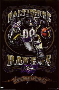 Baltimore Ravens- Mascot.......................... https://www.fanprint.com/licenses/baltimore-ravens?ref=5750