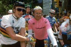 Mauricio Fondriest et Laurent Fignon