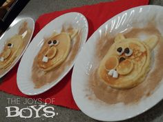 Groundhog Day Pancakes making these for p and c this morning :)