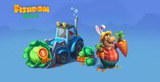 ArtStation - Fisdom game art part 3, Lorian_ de_Villia Game Art, Games, Toys, Artwork, Animals, Plays, Animales, Work Of Art, Animaux
