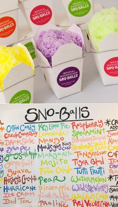 Imperial Woodpecker Sno-Balls | Up to 50% off flavored shaved ice (NYC) | Photos: Mark Jason for DailyCandy