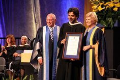Jian Ghomeshi receives honourary degree from Humber, via Flickr.