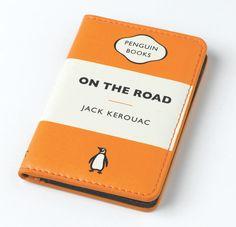 Penguin Card Holder: On the Road (Orange)