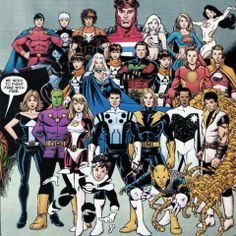 Legion of Super-Heroes by George Perez