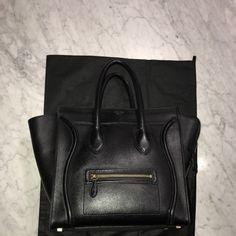 6343bfe7bd0 Celine Handbags - Celine mini luggage handbag Celine Mini Luggage